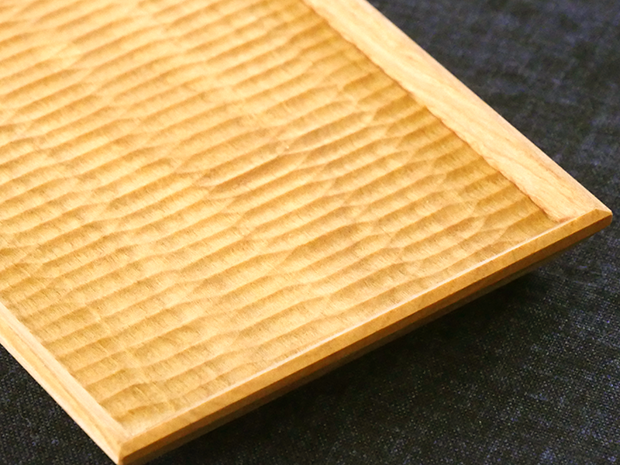 長方平皿(やまざくら こだち)