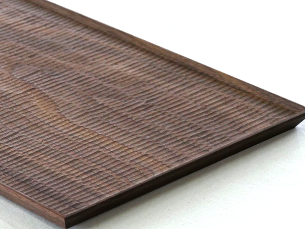 長方平皿(ウォールナット こだち)