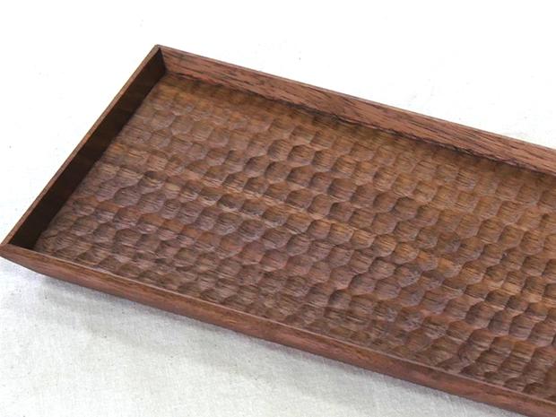 長方平皿(ウォールナット はちのす)
