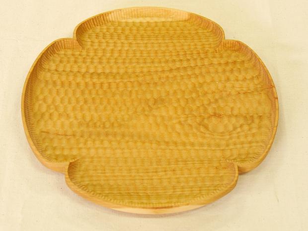 花形パン皿(さくら 大)
