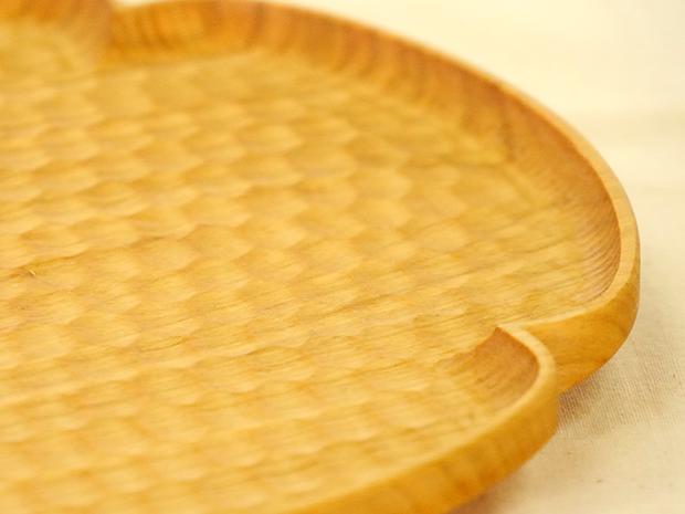花形パン皿(さくら 中)